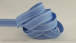 "Blueberry Sky 5/8"" Saddle Stitch Ribbon (5 yards)"