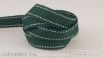"Pinefeather 5/8"" Saddle Stitch Ribbon (5 yards)"