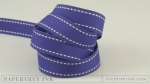 "Royal Velvet 5/8"" Saddle Stitch Ribbon (5 yards)"