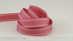 "Autumn Rose 5/8"" Saddle Stitch Ribbon (5 yards)"