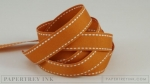"Canyon Clay 5/8"" Saddle Stitch Ribbon (5 yards)"