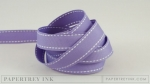 "Winter Wisteria 5/8"" Saddle Stitch Ribbon (5 yards)"
