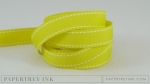 "Limeade Ice 5/8"" Saddle Stitch Ribbon (5 yards)"