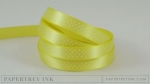 "Limeade Ice 3/8"" Bitty Dot Satin Ribbon (5 yards)"
