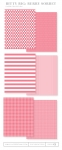 Bitty Big: Berry Sorbet Color Collection (24 sheets)