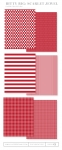 Bitty Big: Scarlet Jewel Color Collection (24 sheets)