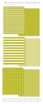 Bitty Big: Simply Chartreuse Color Collection (24 sheets)