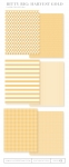 Bitty Big: Harvest Gold Color Collection (24 sheets)