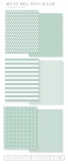 Bitty Big: Mint Julep Color Collection (24 sheets)