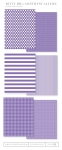 Bitty Big: Amethyst Allure Color Collection (24 sheets)