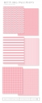Bitty Big: Pale Peony Color Collection (24 sheets)