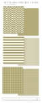 Bitty Big: Prairie Grass Color Collection (24 sheets)