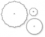 Papertrey Ink - Delightful Doilies Die Collection (set of 3)