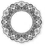 Papertrey Ink - Parisian Lace Doily Die