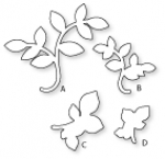 Papertrey Ink - Turning a New Leaf Die Collection (set of 4)