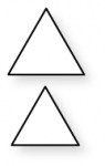 Papertrey Ink - Two Triangles Die Collection (set of 2)