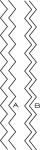 Papertrey Ink - Chevron Stripes Border Die Collection