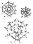 Papertrey Ink - Spider Web Trio Die Collection (set of 3)