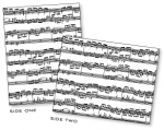 Papertrey Ink - Sheet Music Impression Plate