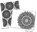 Papertrey Ink - Mehndi Medallion Impression Plate