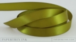 "Ripe Avocado 1/2"" Satin Solid Ribbon (5 yards)"
