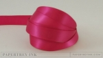"Raspberry Fizz 1/2"" Satin Solid Ribbon (5 yards)"