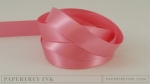 "Hibiscus Burst 1/2"" Satin Solid Ribbon (5 yards)"