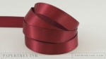 "Scarlet Jewel 1/2"" Satin Solid Ribbon (5 yards)"