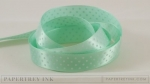 "Aqua Mist 5/8"" Satin Dots Ribbon (5 yards)"