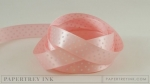 "Sweet Blush 5/8"" Satin Dots Ribbon (5 yards)"