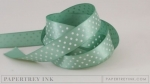 "Ocean Tides 5/8"" Satin Dots Ribbon (5 yards)"