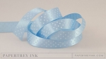 "Spring Rain 5/8"" Satin Dots Ribbon (5 yards)"