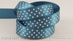 "Enchanted Evening 5/8"" Satin Dots Ribbon (5 yards)"