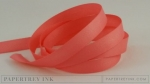 "Berry Sorbet 3/8"" Twill Tape Ribbon (5 yards)"