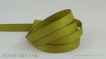 "Ripe Avocado 3/8"" Twill Tape Ribbon (5 yards)"