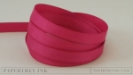 "Raspberry Fizz 3/8"" Twill Tape Ribbon (5 yards)"