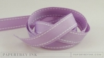 "Lavender Moon 5/8"" Saddle Stitch Ribbon (5 yards)"