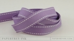 "Plum Pudding 5/8"" Saddle Stitch Ribbon (5 yards)"