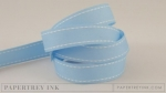 "Spring Rain 5/8"" Saddle Stitch Ribbon (5 yards)"