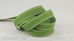 "New Leaf 5/8"" Saddle Stitch Ribbon (5 yards)"