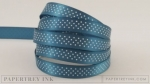 "Enchanted Evening 3/8"" Bitty Dot Satin Ribbon (5 yards)"