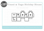 Tinsel & Tags House Die