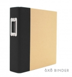 Simple Stories SN@P 6x8 Binder (Black)