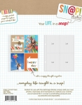 Simple Stories SN@P 6x8 Pocket Pages- 3x4 Vertical