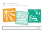 Sun & Surf Stencil Collection (set of 3)