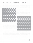 Stencil Basics: Dots Stencil Collection (set of 2)