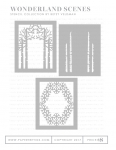 Wonderland Scenes Stencil Collection (set of 3)