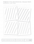 Perfect Plaid Stencil Collection (set of 4)