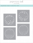 Big Balloon Stencil Collection: Dots (set of 4)