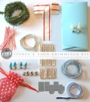 MakeIt Market Kit: Tinsel & Tags Trimmings Kit